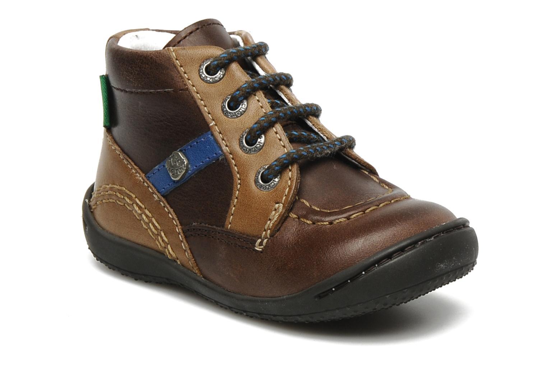 Stiefeletten & Boots Kickers GUGUS braun detaillierte ansicht/modell