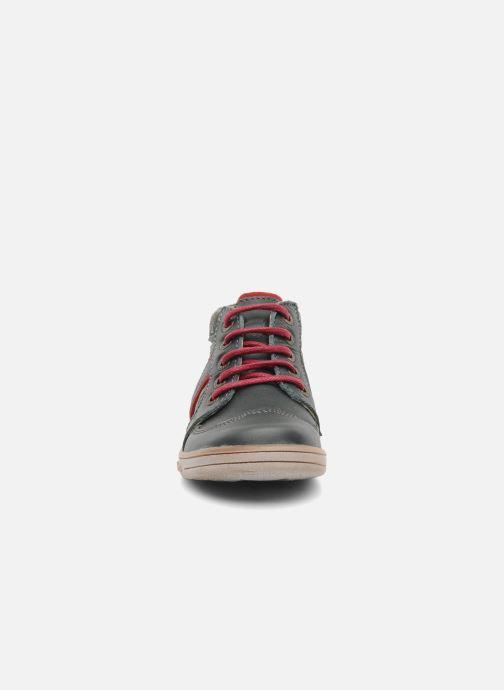 Stiefeletten & Boots Kickers TRANSISTOR grau schuhe getragen
