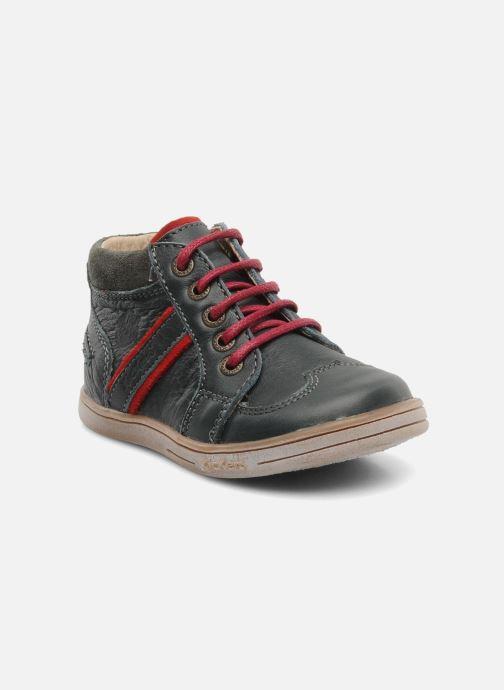 Ankelstøvler Kickers TRANSISTOR Grå detaljeret billede af skoene