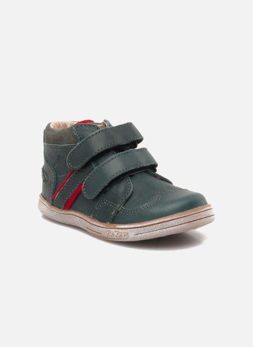 b848224aa1794 Kickers TRAPEZE (Vert) - Chaussures à scratch chez Sarenza (103470)