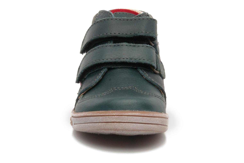 Chaussures à scratch Kickers TRAPEZE Vert vue portées chaussures