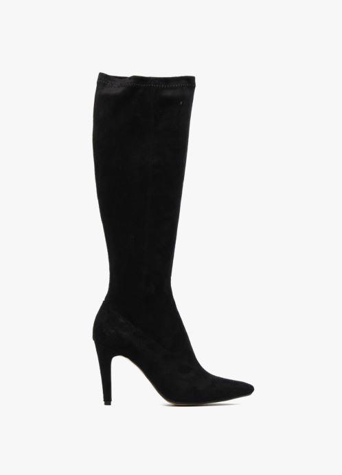Boots & wellies Georgia Rose Hupana stretch Black back view