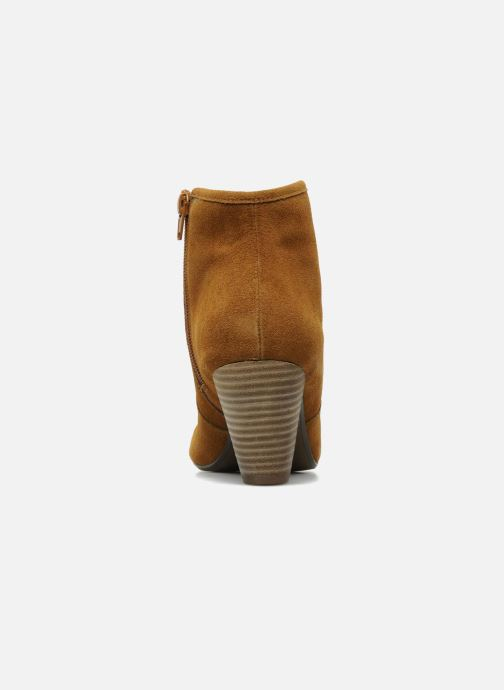 Ankle boots Georgia Rose Ipana Brown view from the right