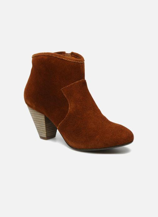Boots en enkellaarsjes Georgia Rose Ipana Bruin detail