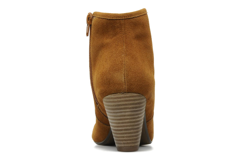 Bottines et boots Georgia Rose Ipana Marron vue droite