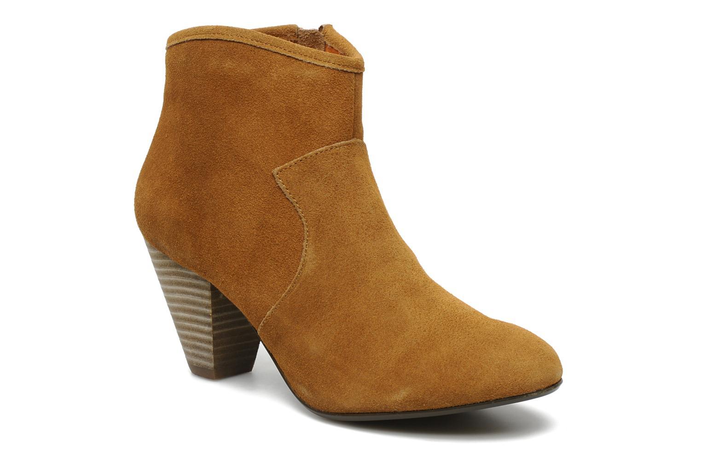 Bottines et boots Georgia Rose Ipana Marron vue détail/paire