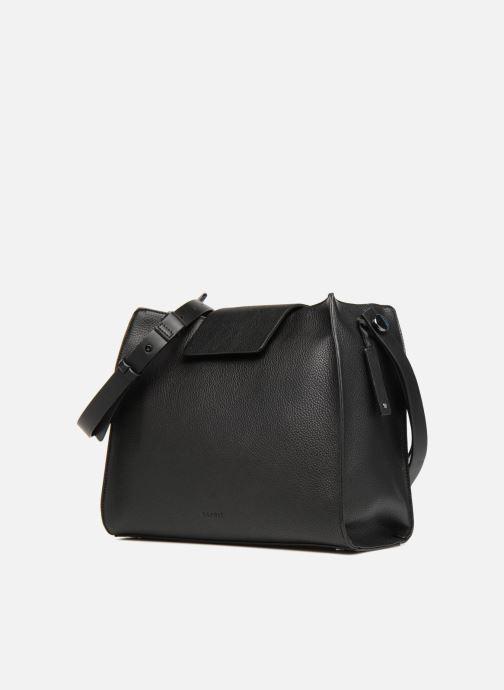 Handtaschen Esprit Ida Hobo schwarz schuhe getragen