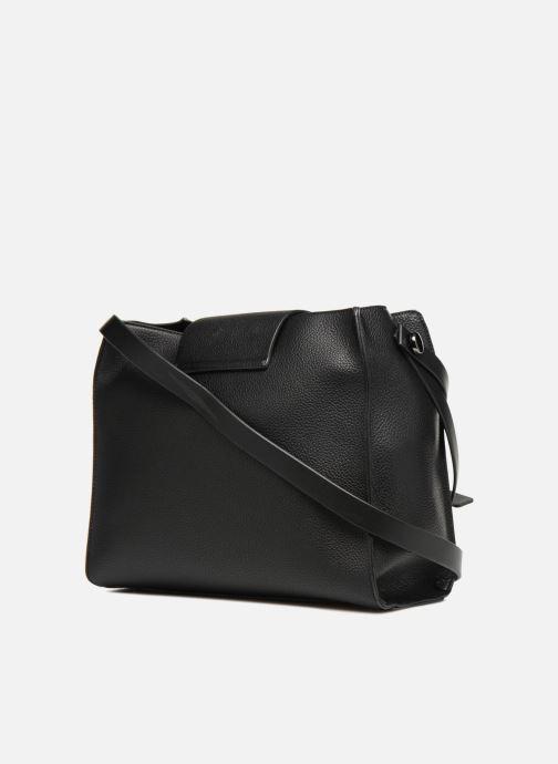 Handtaschen Esprit Ida Hobo schwarz ansicht von rechts