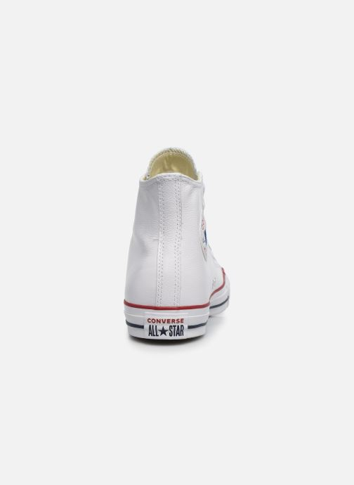 Deportivas Converse Chuck Taylor All Star Leather Hi M Blanco vista lateral derecha