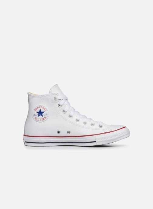 Deportivas Converse Chuck Taylor All Star Leather Hi M Blanco vistra trasera