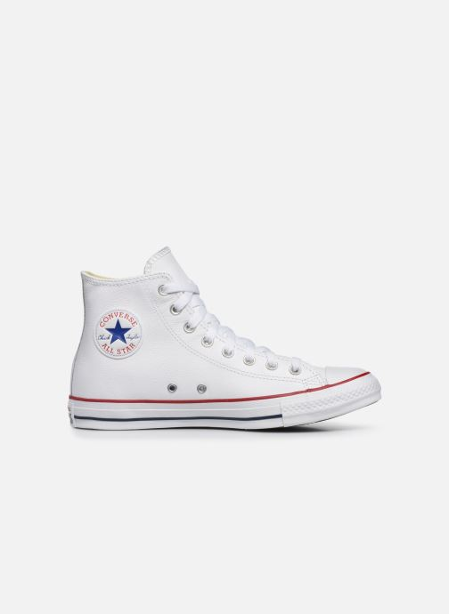 Sneakers Converse Chuck Taylor All Star Leather Hi M Hvid se bagfra