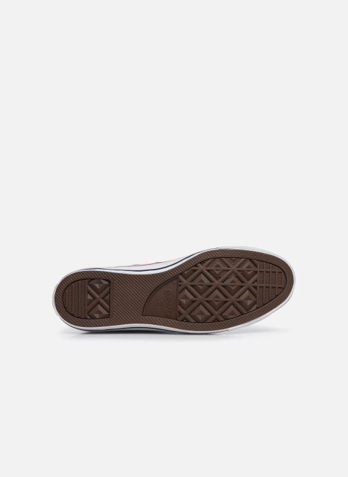 Sneaker Converse Chuck Taylor All Star Leather Hi M weiß ansicht von oben