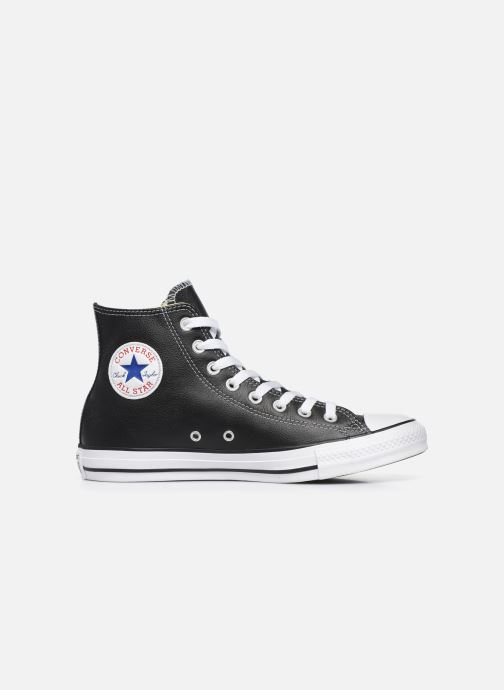 Baskets Converse Chuck Taylor All Star Leather Hi M Noir vue derrière