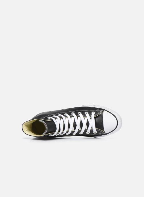 Sneaker Converse Chuck Taylor All Star Leather Hi M schwarz ansicht von links