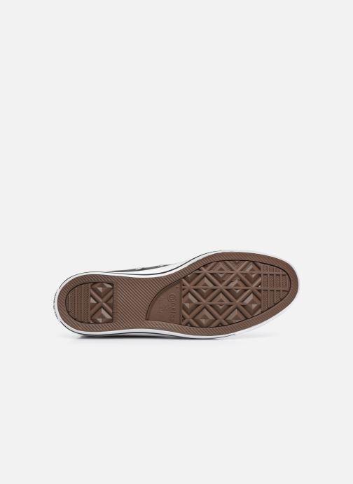 Sneaker Converse Chuck Taylor All Star Leather Hi M schwarz ansicht von oben