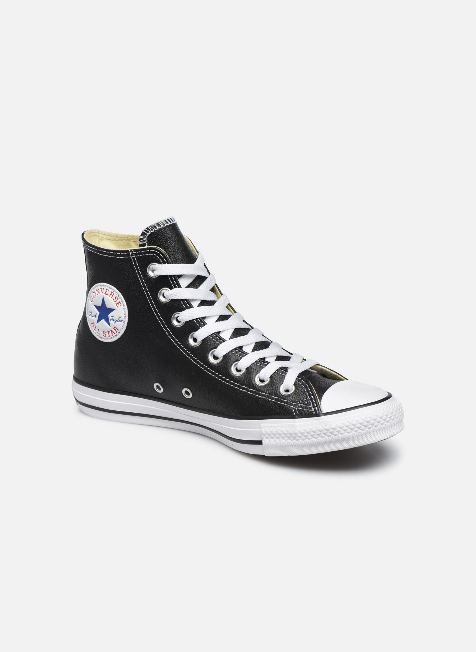 Sneakers Converse Chuck Taylor All Star Leather Hi M Nero vedi dettaglio/paio