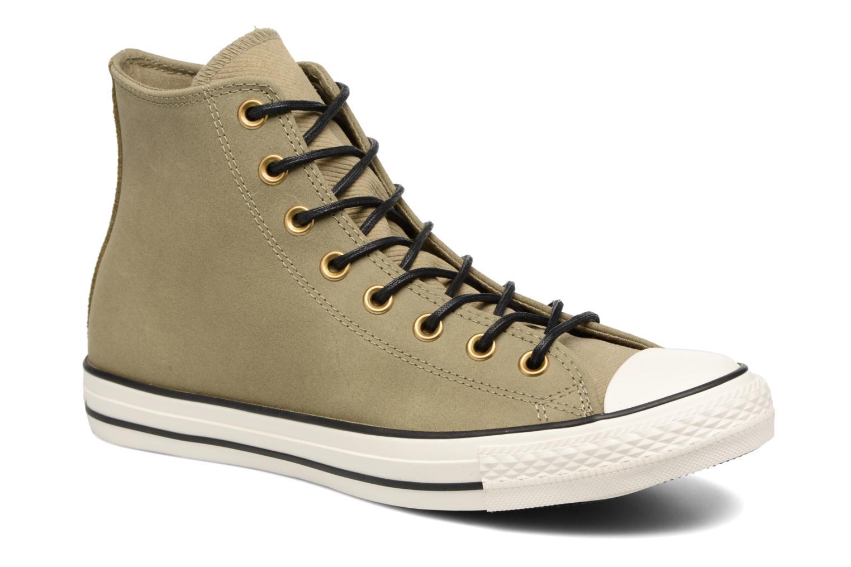 7763236ff7a8 Sneakers Converse Chuck Taylor All Star Leather Hi M Beige detaljeret  billede af skoene