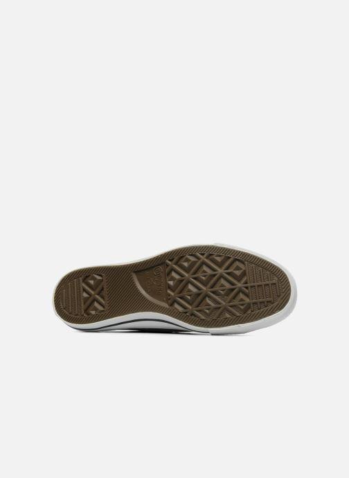 Sneaker Converse Chuck Taylor All Star Leather Ox M schwarz ansicht von oben