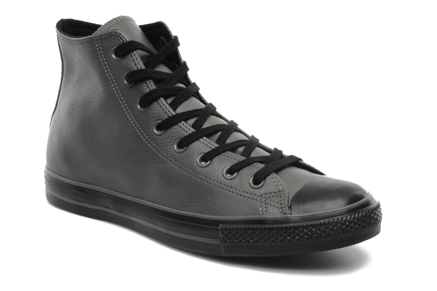 8ec0b1fc7fdb4 ... promo code for sneaker converse chuck taylor all star dark out leather  hi m grau detaillierte