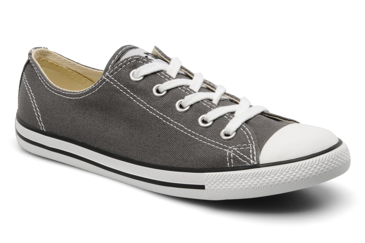 Sneakers Converse All Star Dainty Canvas Ox Grijs detail