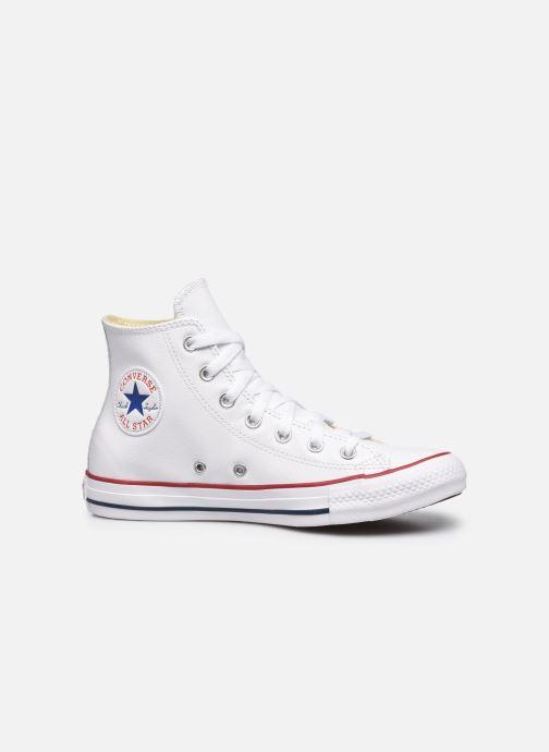 Sneaker Converse Chuck Taylor All Star Leather Hi W weiß ansicht von hinten