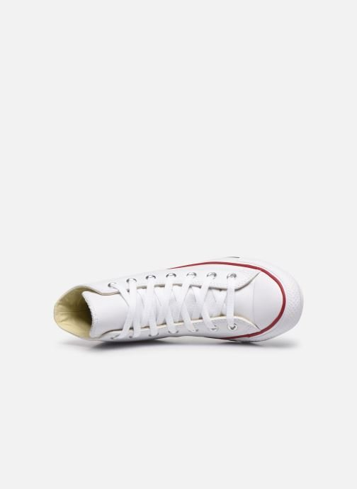 Deportivas Converse Chuck Taylor All Star Leather Hi W Blanco vista lateral izquierda