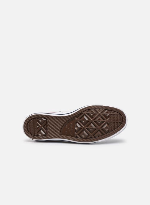 Sneakers Converse Chuck Taylor All Star Leather Hi W Bianco immagine dall'alto