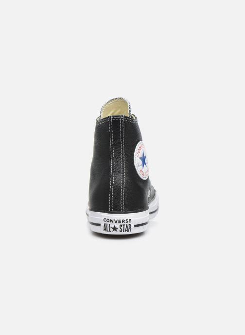 Sneaker Converse Chuck Taylor All Star Leather Hi W schwarz ansicht von rechts