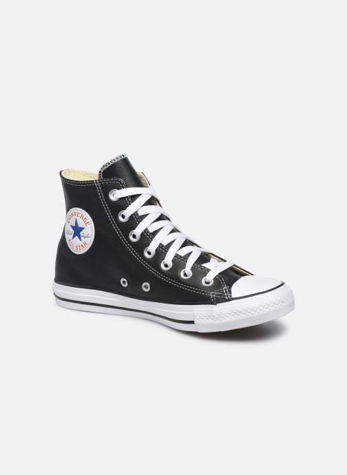 Deportivas Converse Chuck Taylor All Star Leather Hi W Negro vista de detalle / par
