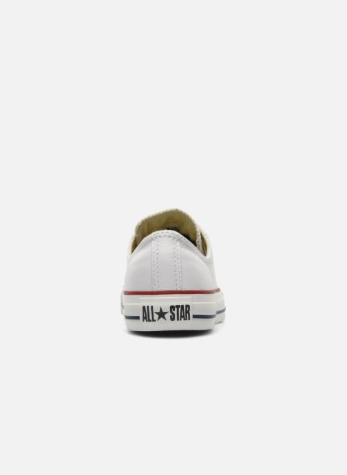 Sneakers Converse Chuck Taylor All Star Leather Ox W Bianco immagine destra