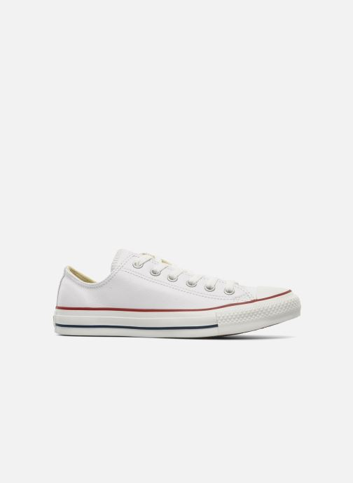 Sneakers Converse Chuck Taylor All Star Leather Ox W Hvid se bagfra