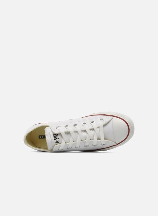 Trainers Converse Chuck Taylor All Star Leather Ox W White view from the left