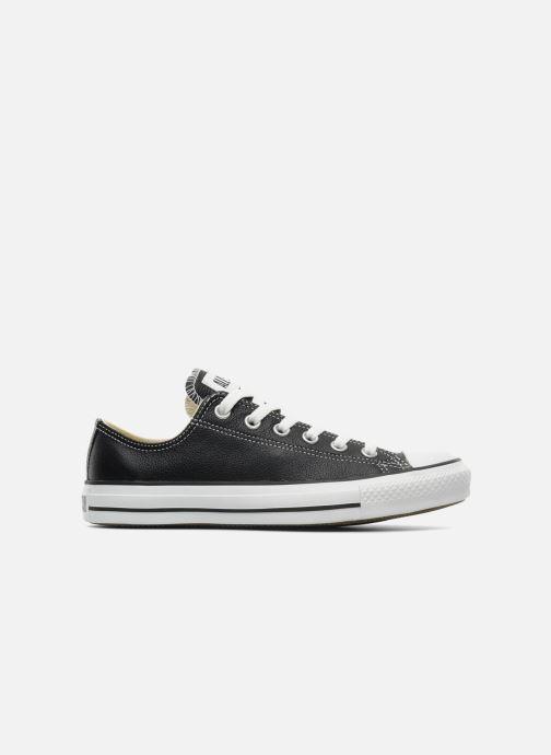 Sneaker Converse Chuck Taylor All Star Leather Ox W schwarz ansicht von hinten