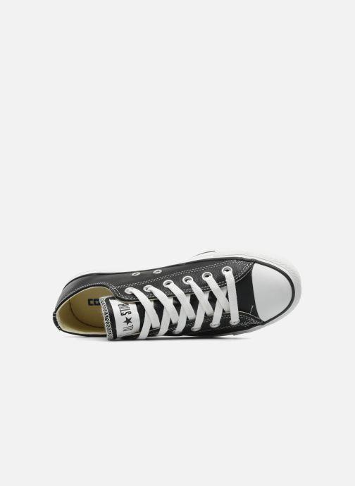 Sneaker Converse Chuck Taylor All Star Leather Ox W schwarz ansicht von links