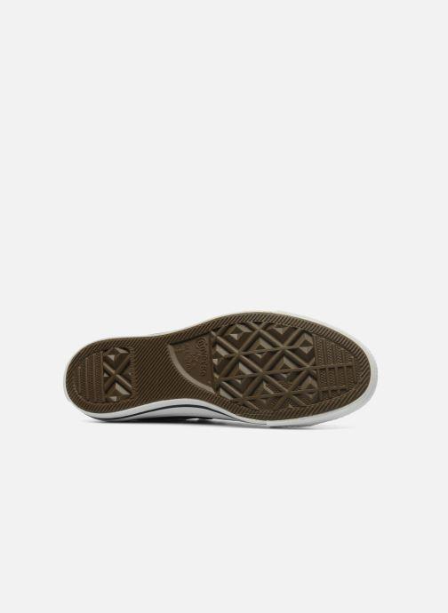 Sneaker Converse Chuck Taylor All Star Leather Ox W schwarz ansicht von oben