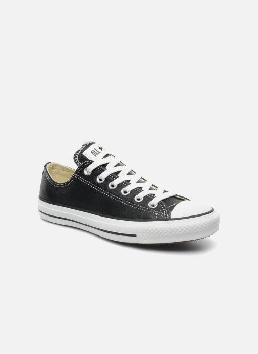 Sneakers Converse Chuck Taylor All Star Leather Ox W Nero vedi dettaglio/paio