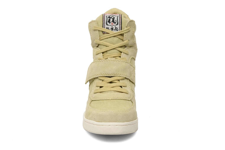 Baskets Ash Cool Vert vue portées chaussures