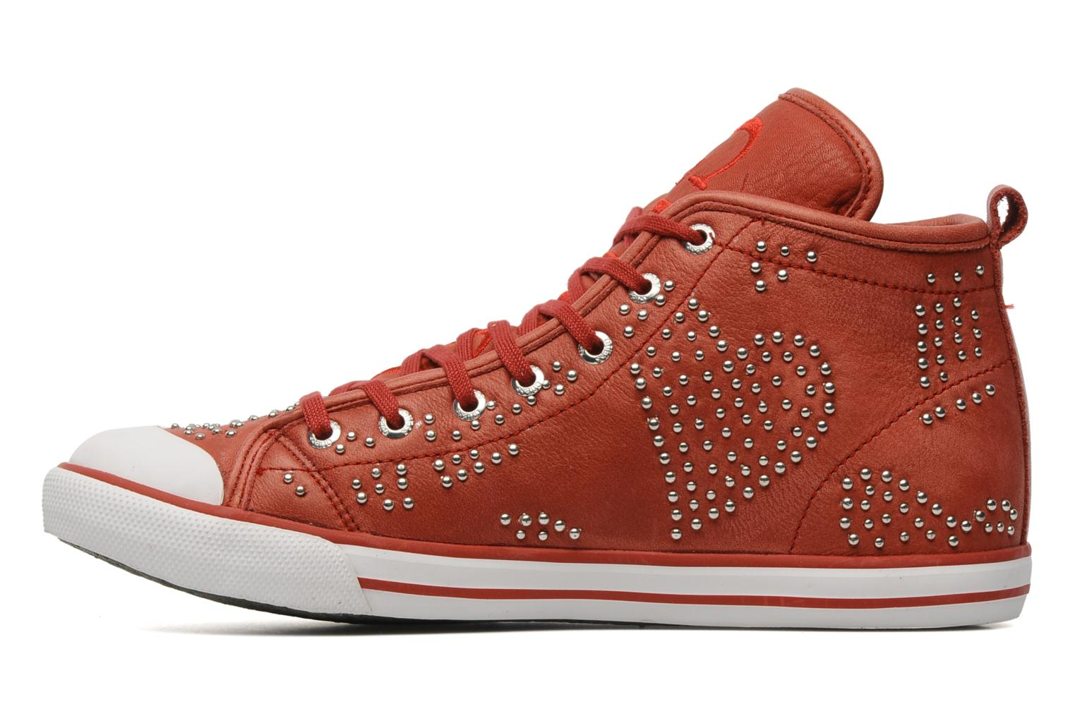 Sneakers Guess Heart Rosso immagine frontale