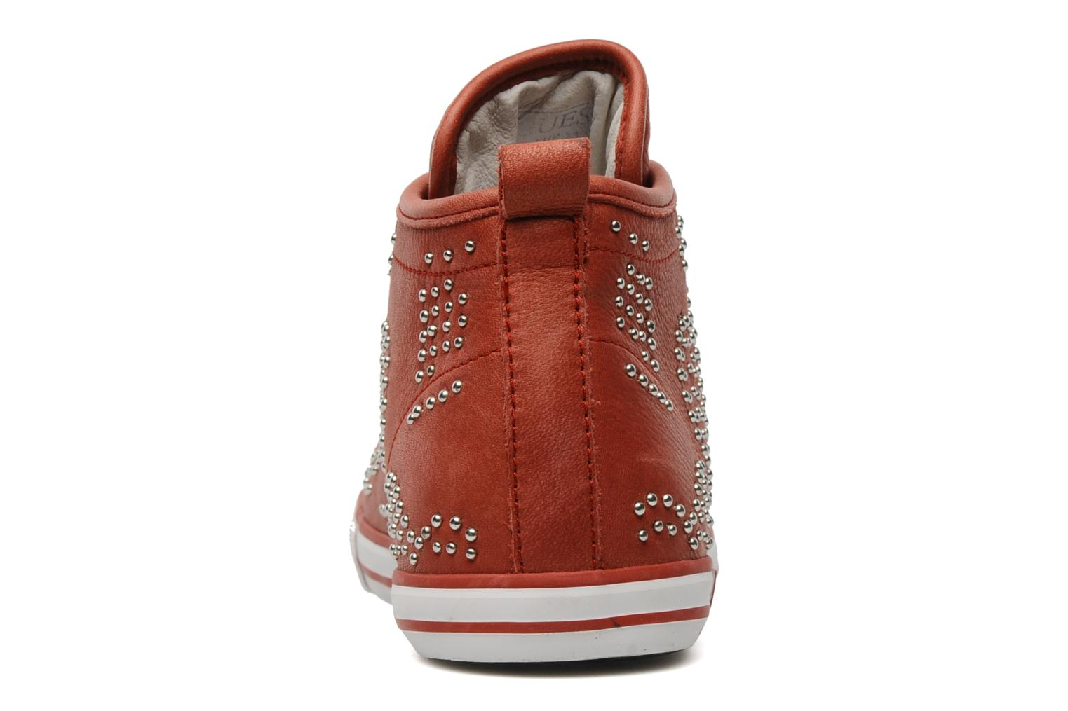 Sneakers Guess Heart Rosso immagine destra