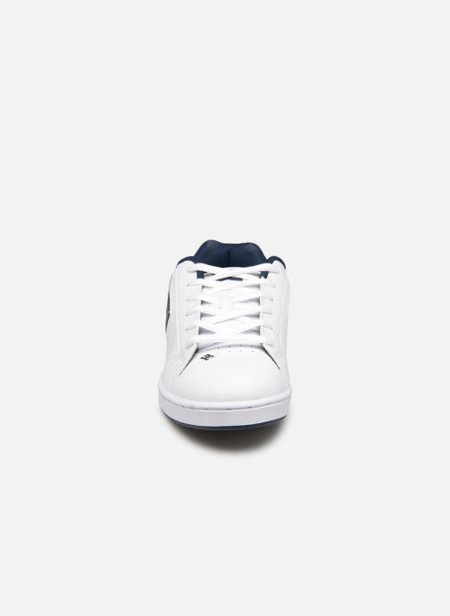 Chaussures de sport DC Shoes Net SE Blanc vue portées chaussures