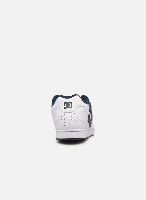 Chaussures de sport DC Shoes Net SE Blanc vue droite