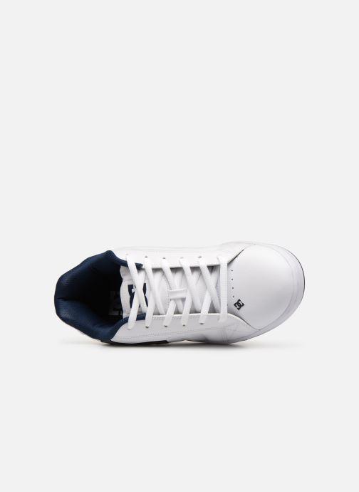 Chaussures de sport DC Shoes Net SE Blanc vue gauche