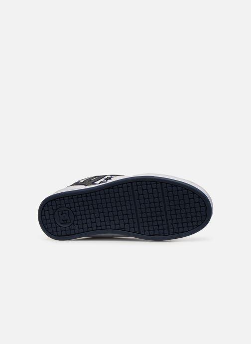 Chaussures de sport DC Shoes Net SE Blanc vue haut