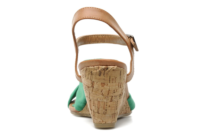Sandales et nu-pieds Refresh ARMONIA Vert vue droite