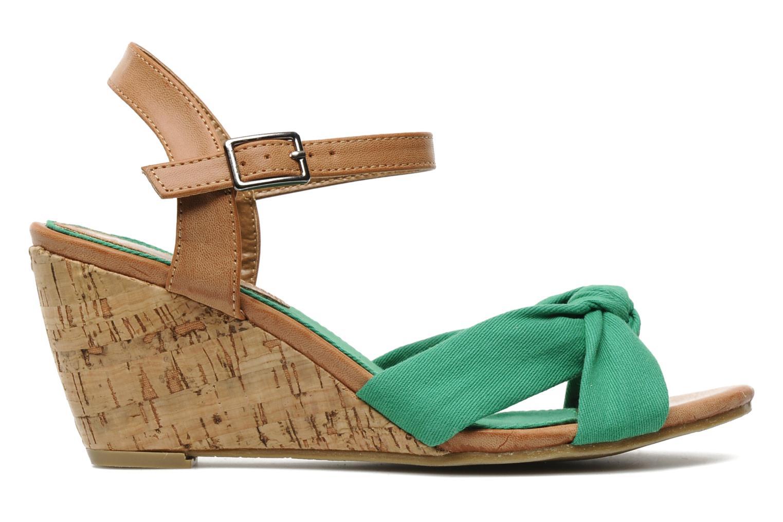 Sandales et nu-pieds Refresh ARMONIA Vert vue derrière