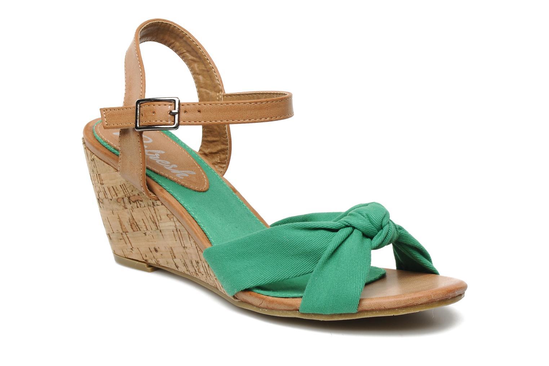 Sandales et nu-pieds Refresh ARMONIA Vert vue détail/paire