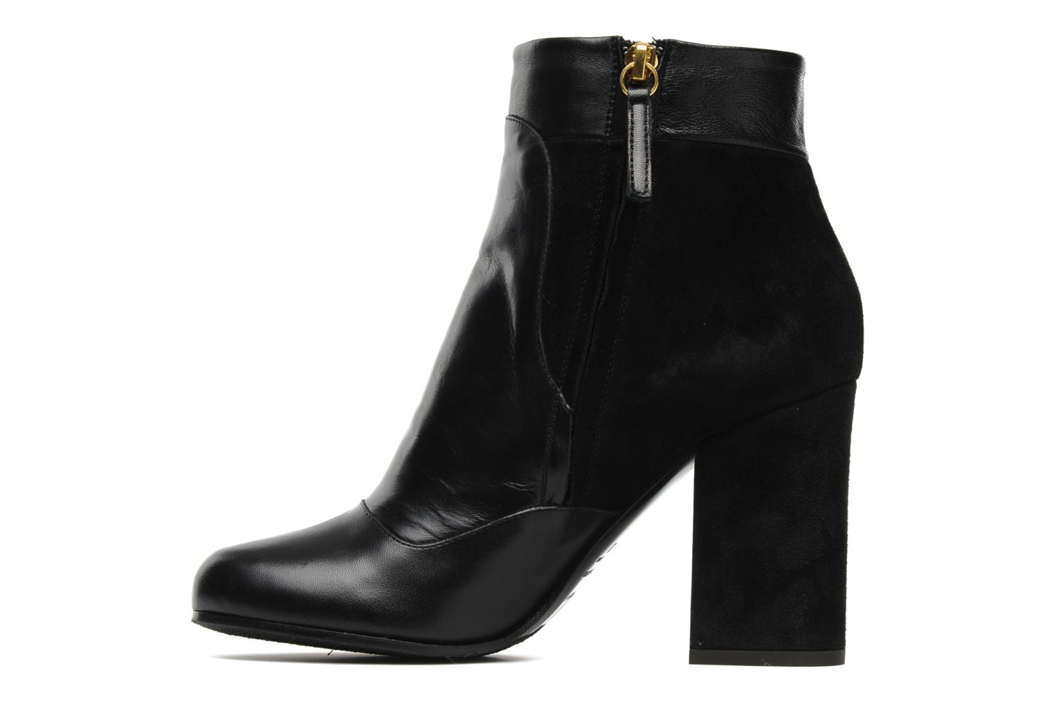 Ankle boots Vicini Pluina Black front view