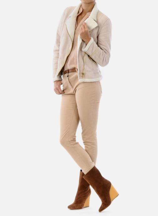 Stiefeletten & Boots Vicini Nina braun ansicht von unten / tasche getragen