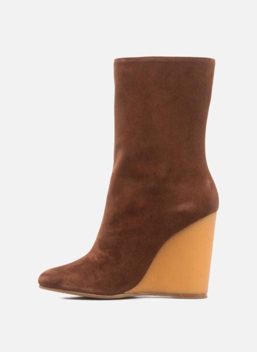 Stiefeletten & Boots Vicini Nina braun ansicht von vorne