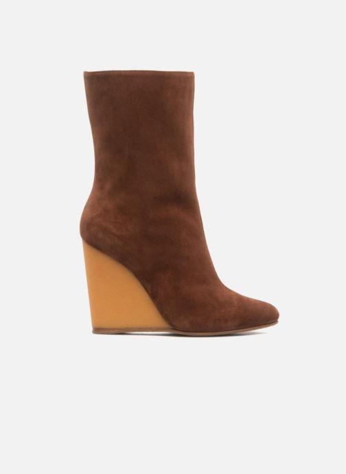 Stiefeletten & Boots Vicini Nina braun ansicht von hinten